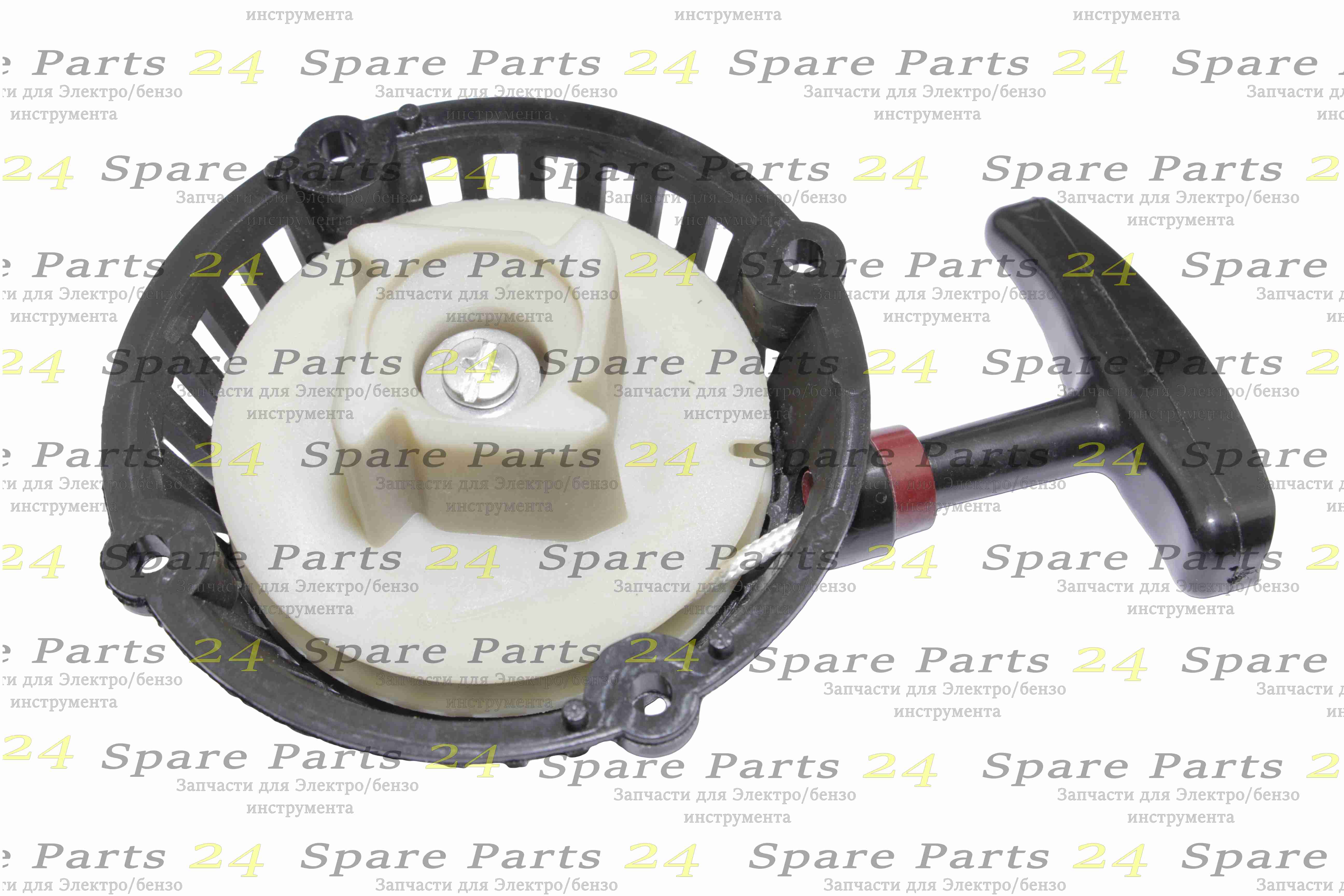 Стартеры / Ручной стартер двигателя Китай 43-62 см 4-зубы
