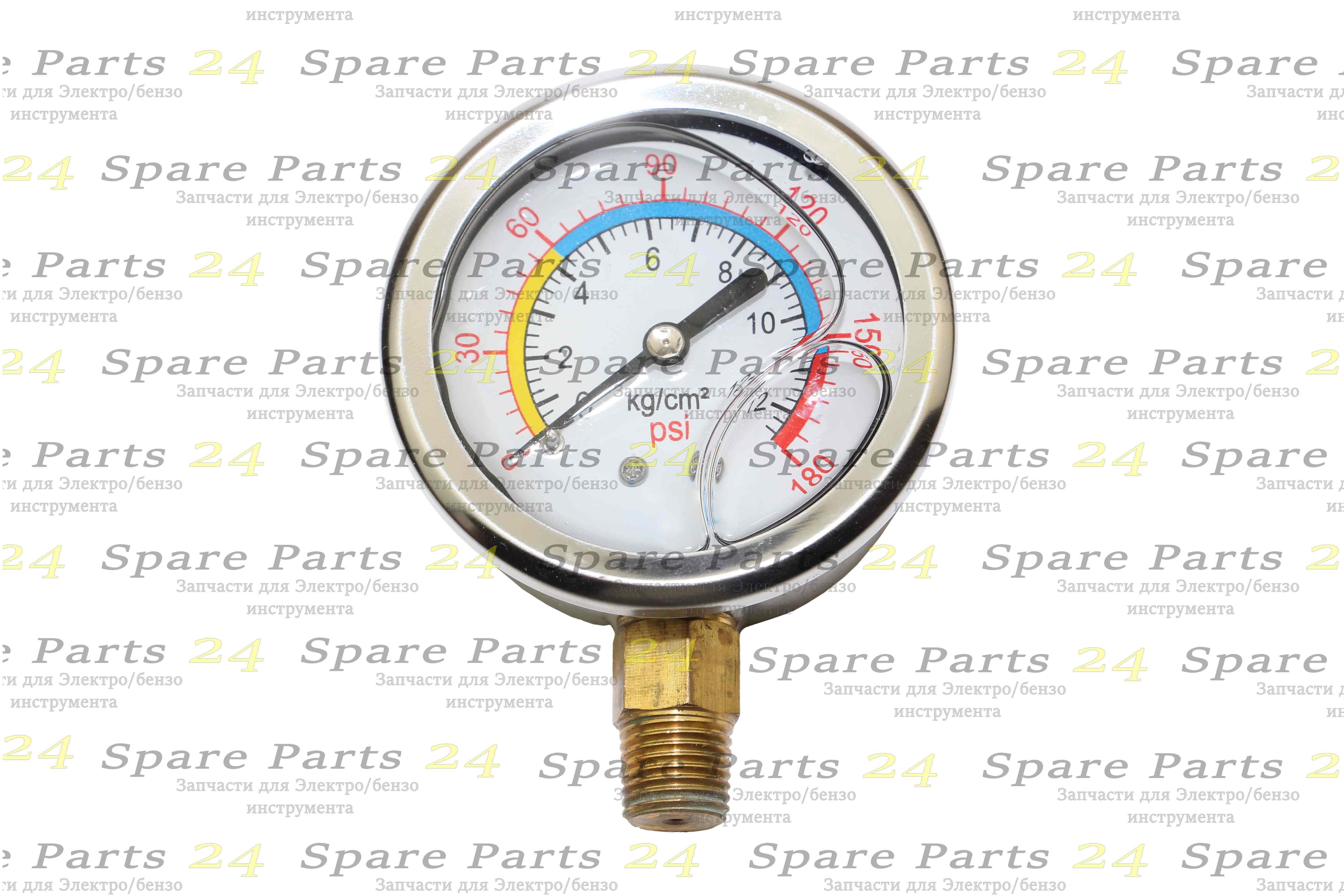 Запчасти для электроинструмента / Монометр компрессора