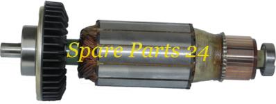 Роторы для электроинструмента / КИРОВ / Якорь МШУ 2,2  kWt (подшипники, план-шайба)