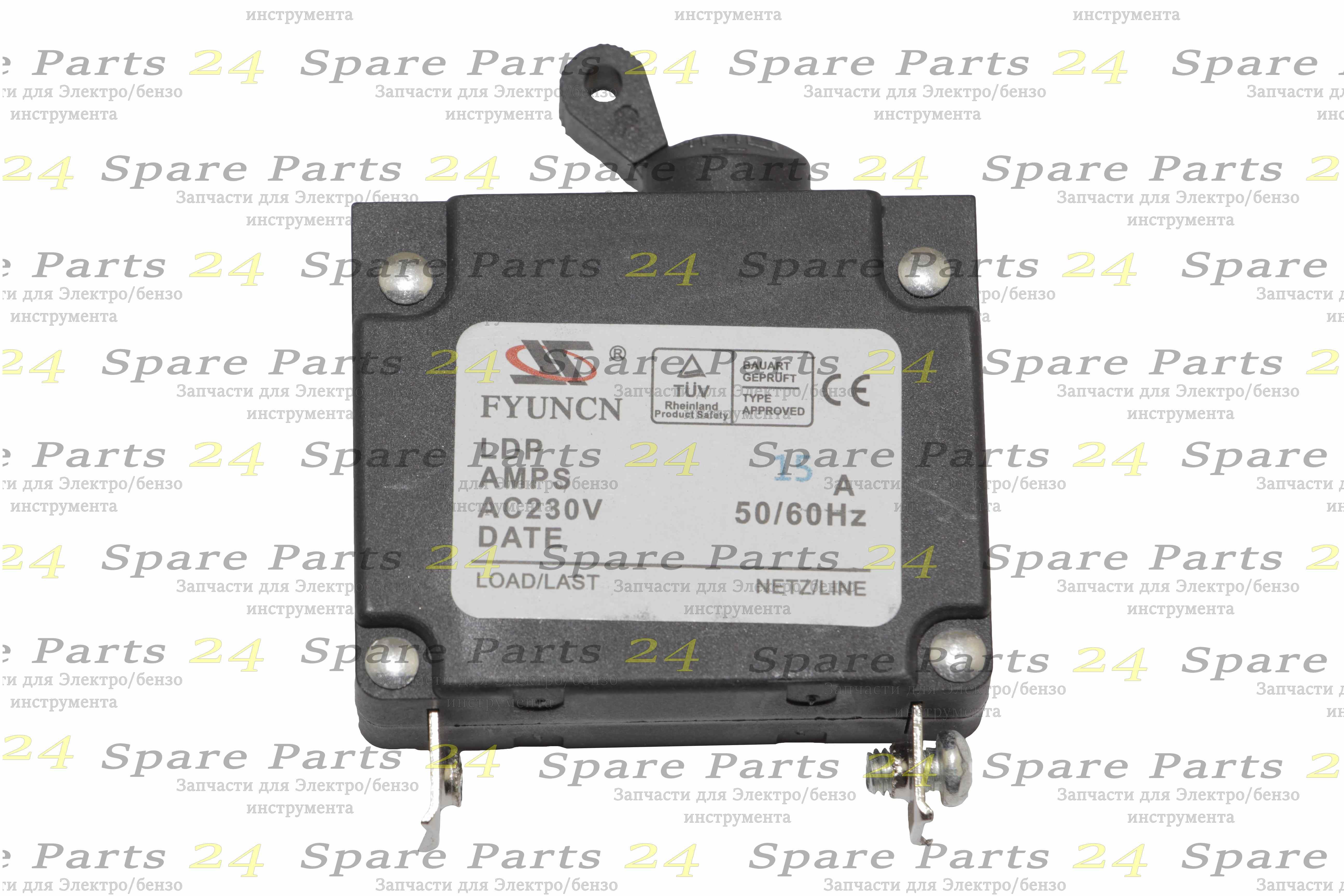 Выключатели / Выключатель -автомат для генератора малый до 3 kw15A