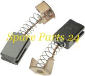 Щетки / Электроугольная щетка Greapo 5х8х12 Проточка 2, пружина, пятак-зацепы Greapo WS-125