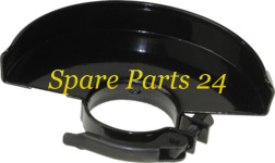 Запчасти для электроинструмента / Защитный кожух для МШУ 1.2 - 150 КИТАЙ (СМОЛЕНСК, ДИОЛД и др.) диаметр хомута 54,автозажимн
