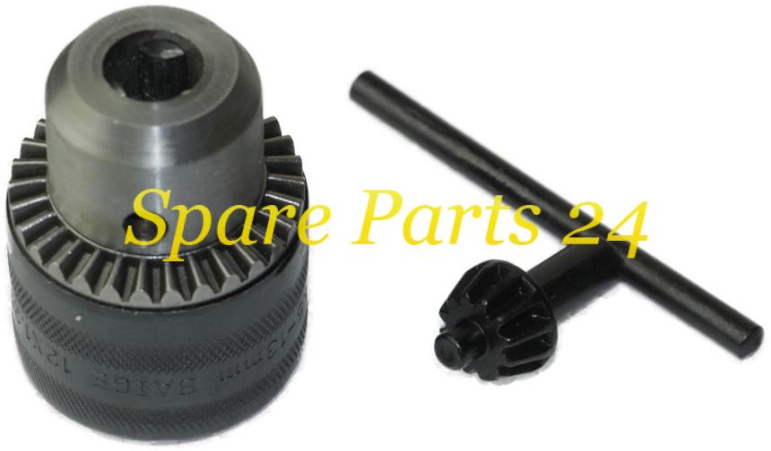 Запчасти для электроинструмента / Патрон для дрели с зажиманием сверла (d-13, 1,25)