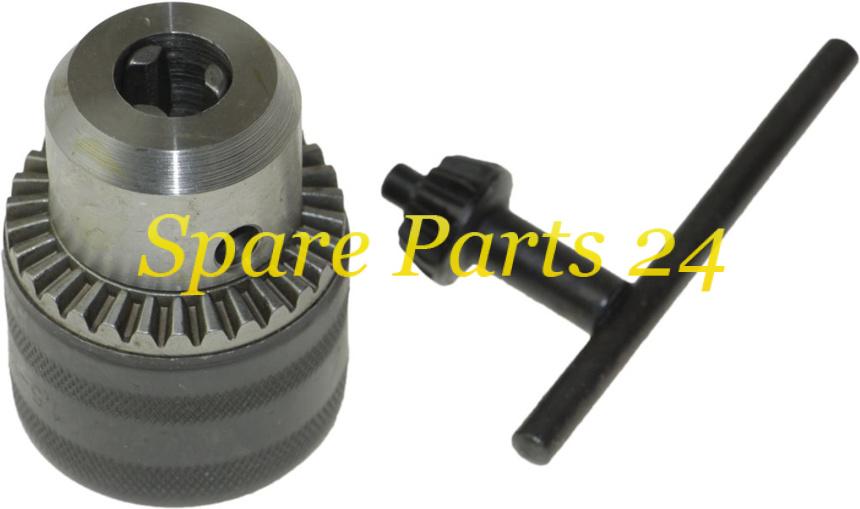 Запчасти для электроинструмента / Патрон для дрели с зажиманием сверла (d-13, В12)