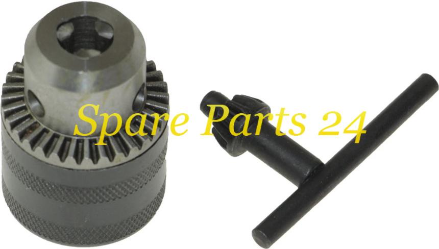Запчасти для электроинструмента / Патрон для дрели с зажиманием сверла (d-10, В12)